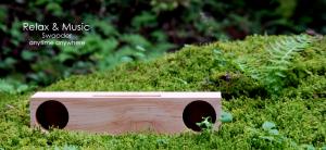 木製iPhoneスピーカー Swooder